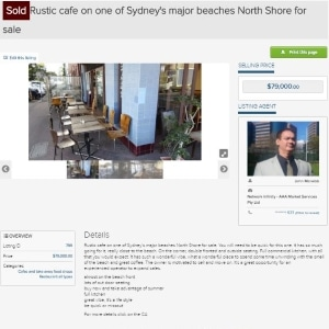 #1 Best great business broker sell cafe for sale sold Manly