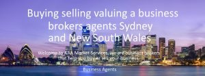 #1 Buying selling valuing business brokers agents Sydney NSW 2