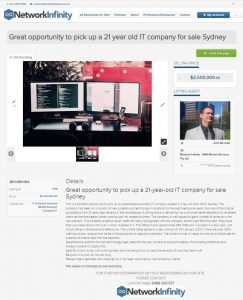 Great opportunity to pick up a 21-year-old IT company for sale Sydney