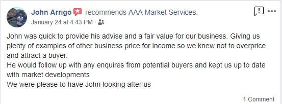 AAA Market Services Business Brokers Facebook Review