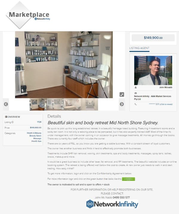 Sell business broker agent Silverwater value buy opportunity